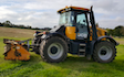 Jlr farm services with Verge/flail Mower at Misterton