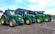 A & sj charlesworth farmers and contractors with Tractor 201-300 hp at Loxley