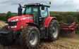 J e longden & sons with Disc harrow at Whaley