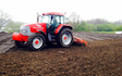 Anthony agricultural  with Power harrow at Hazel Grove