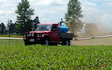 Grain & food limited with Self-propelled sprayer at Gordonton