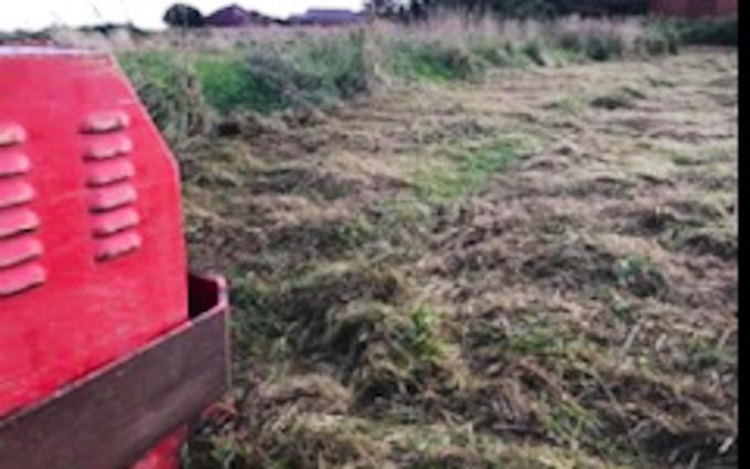 Sdr. tørring maskinstation med Brakpudser ved Lemvig