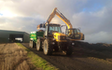 J. steel contracting  with Excavator at Cauldhame Farm Road