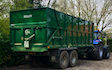 S & g agri with Tipping trailer at Kirstead Green