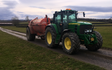 F. fryer & sons  with Slurry spreader/injector at Ilkley