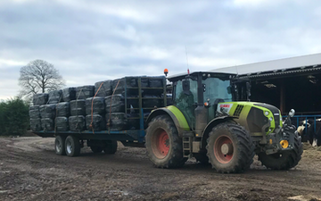 A . d with Low loader at United Kingdom