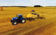 Mariesminde landbrug med Bigballepresser ved Roslev