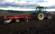 Johnstone contracting ltd with Disc harrow at Tokanui