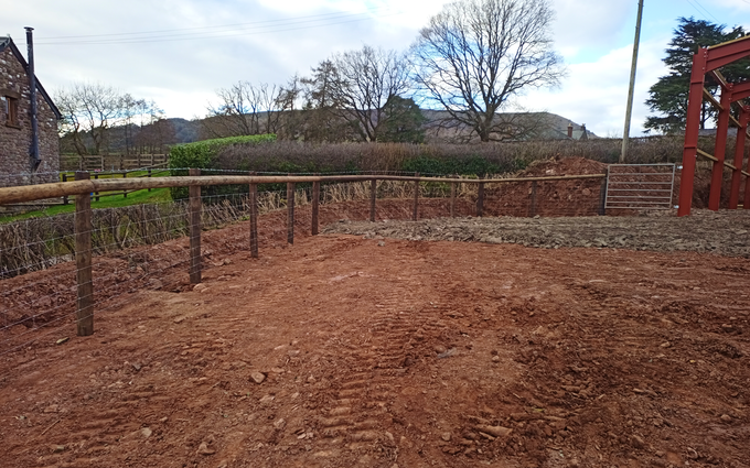 Jenx plant ltd with Fencing at Abergavenny