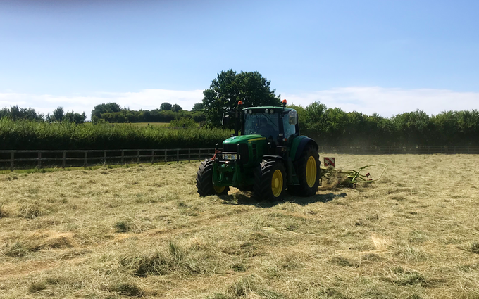 Aeh services with Tedder at Cholsey