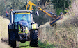 K h contracting  with Hedge cutter at Streatley