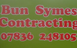 Bun symes contracting limited with Slurry spreader/injector at United Kingdom