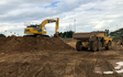 Graham oates associates  with Excavator at Bekesbourne