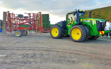 Tepirita enterprises ltd with Seedbed cultivator at Bankside