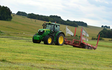 Cornbury farm contracting ltd with Bale chaser at West Lavington