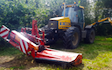 J. rogers agri with Hedge cutter at Parham