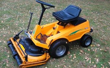 Tempo rengøring med Græsslåmaskine ved Kolding
