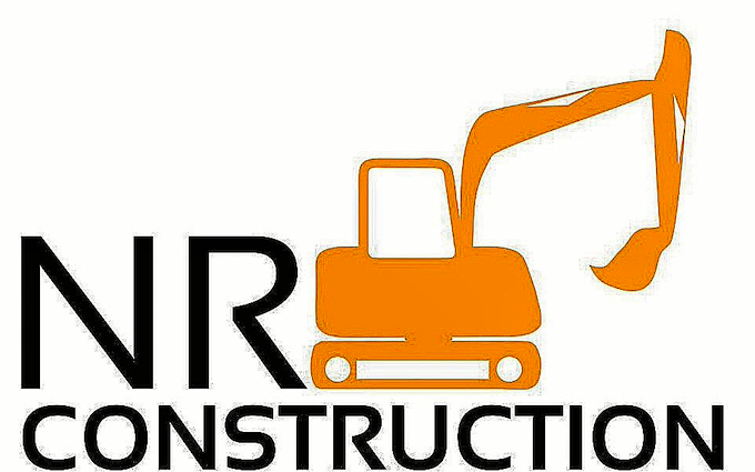 Nr construction  with Mini digger at Hingham