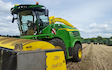D&b farming co ltd with Forage harvester at Leasingham