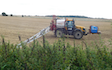 Jlr farm services with Self-propelled sprayer at Misterton