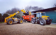 Richard taylor travel  with Telehandler at Saint Ippolyts