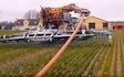 Niemanns maskinstation a/s med Gylleudlægger med slangebom ved Tureby