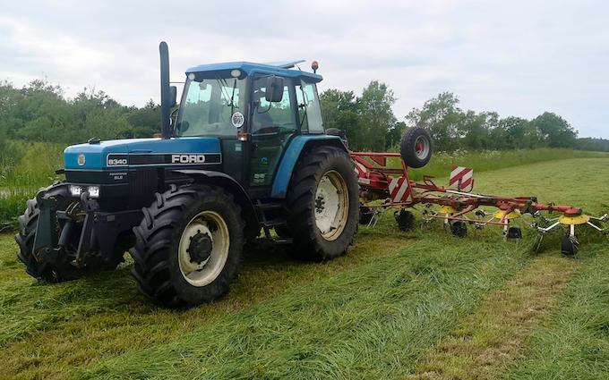 Md agro i/s med Traktor 101-200 hk ved Løgstrup