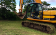 Darsdale contracts limited  with Excavator at Ringstead