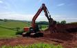 Wildwoods contractors with Excavator at United Kingdom