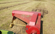 A.d.s agricultural contractors  with Small square baler at Muddiford