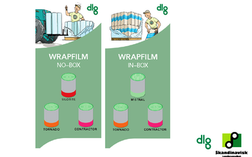 Dlg med Wrapballepresser ved Vinderup