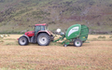 Chamberlain agriculture ltd with Round baler at Sheffield