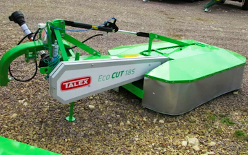 Nc agri services with Mower at Desford