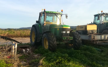 Gibbs agriculture services  with Tractor 100-200 hp at Wiveliscombe