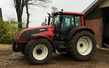 Aspgaard markservice med Traktor 101-200 hk ved Rødding