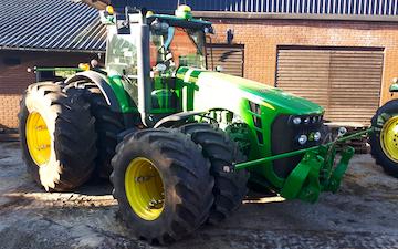 N.k. markservice  med Traktor over 300 hk ved Herning