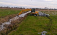 B j goose digger hire ltd  with Excavator at United Kingdom
