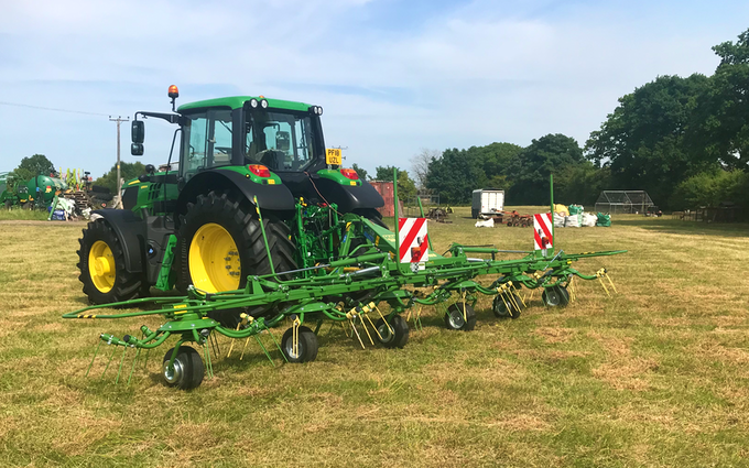 Edwards agricultural services  with Tedder at Chorley