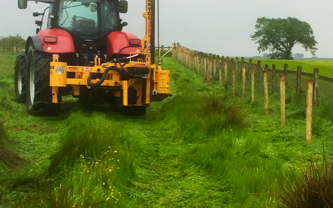 O richardson farm services with Fencing at Longridge