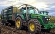 T&b agricultural contractors ltd with Silage/grain trailer at United Kingdom