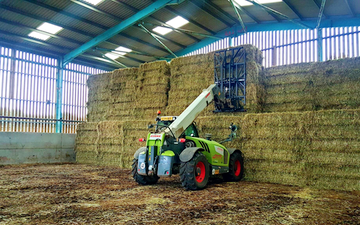 A&s eggleston with Telehandler at United Kingdom