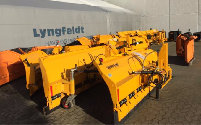 Lyngfeldt a/s med Snerydning ved Hadsten