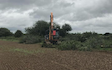 Aeh services with Hedge cutter at Cholsey