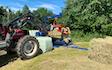 Dreyer entreprenør. landbrug.skov med Indpakning ved Odense