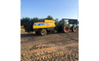 M.s.entreprenør & landbrugsservice  med Mini-bigballepresser ved Fredericia