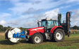 Alternative fertiliser solutions  with Slurry spreader/injector at Sutton Benger