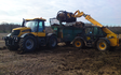 Pg groundcare ltd with Manure/waste spreader at Hollybank