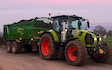 K m bray agri & plant contractor  with Tipping trailer at Talgarth