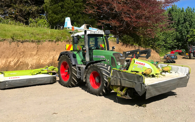 S marshall contracting limited  with Mower at Ratapiko