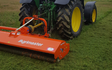 Broad leaf ground maintenance  with Mower at Royal Tunbridge Wells